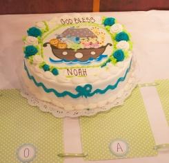Noah Christening Cake