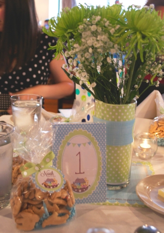 NoahsChristening table setting2