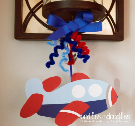 First Birthday Boy's Airplane Party by Oodles and Doodles, OandD
