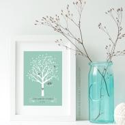 sage tree print p1
