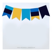 POOL party - mini bunting IG