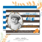 Pumpkin bday invite BOY p1