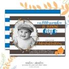 Pumpkin bday invite BOY p1