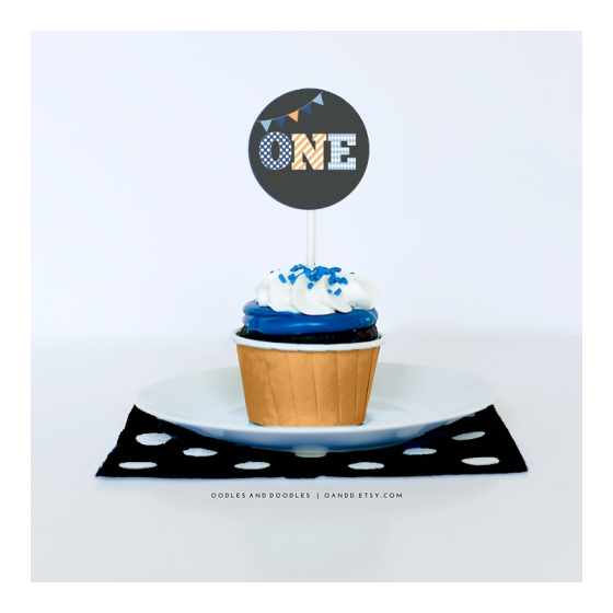 ONE cupcake ORANGE IG