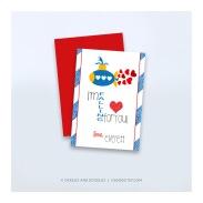 boys valentines _ submarine